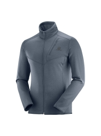 Bluza DISCOVERY LT FZ M Ebony Heather